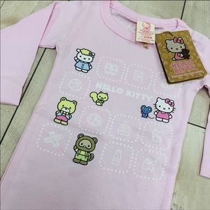 Adorable Hello Kitty Onesie